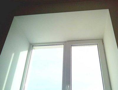 как сделать откосы на пластиковых окнах