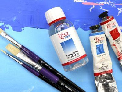 что такое масляная краска