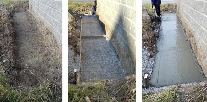 Заливка бетона в холодное время года