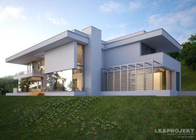 как построить дом хай тек