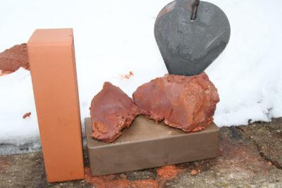 как замесить глину для печи