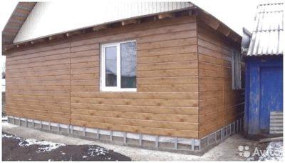 как обшить деревянный дом