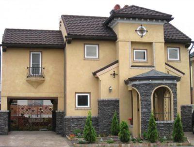 как украсить фасад дома