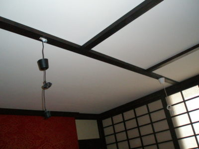 как сделать балки на потолке своими руками
