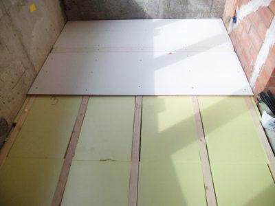 как утеплить бетонный пол