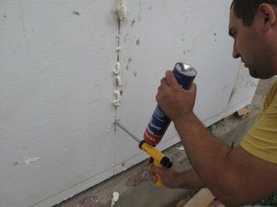 как заделать трещину в стене внутри квартиры