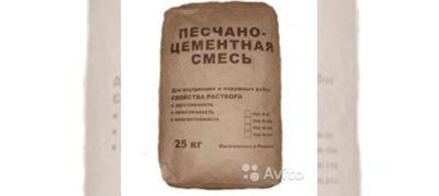сколько мешков пескобетона в 1м3