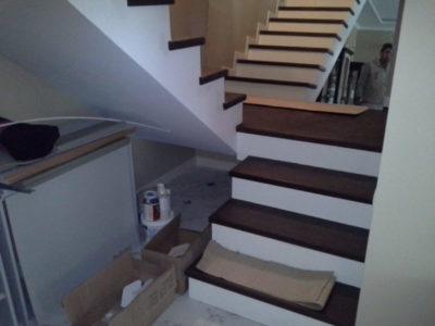 как сделать лестницу из бетона