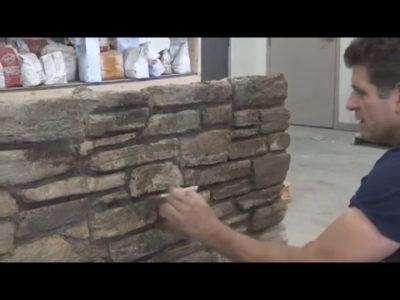 как сделать имитацию камня