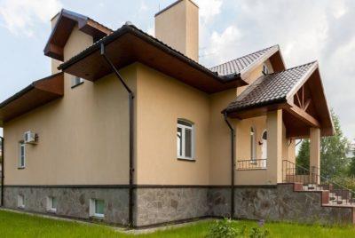 как облицевать дом из газобетона