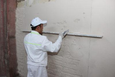 как подготовить бетонные стены под покраску