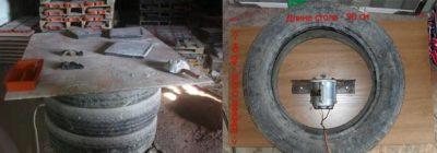 как сделать вибростол для тротуарной плитки