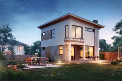 как построить двухэтажный дом