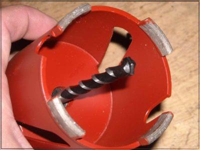 какой диаметр коронки для подрозетников