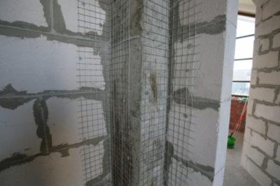 как штукатурить стены из газобетона