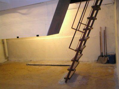 как построить подвал в гараже