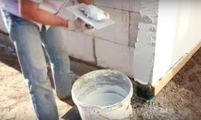 как сделать раствор для штукатурки стен