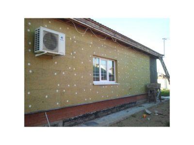 как утеплить дом из пеноблоков снаружи