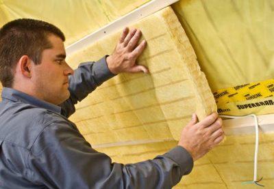 как утеплить потолок в частном доме минватой