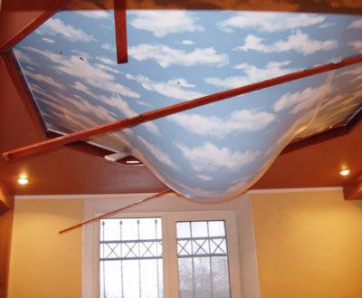 что такое навесной потолок