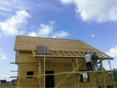 как строят дома из сип панелей