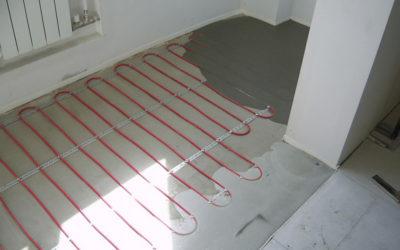 как сделать стяжку на теплый пол