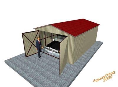как построить гараж из блоков