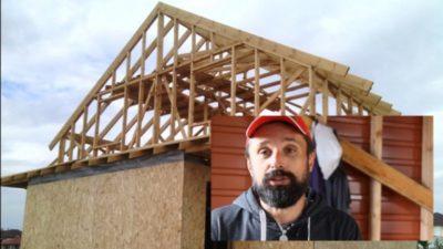 как правильно построить каркасный дом