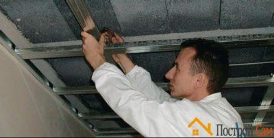 как сделать шумоизоляцию потолка