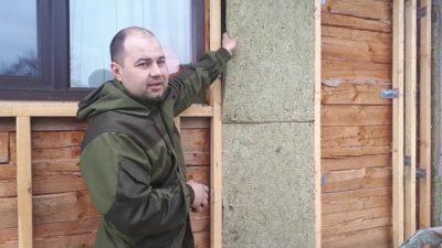 как утеплить дом из бруса снаружи