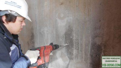 как проверить прочность бетона
