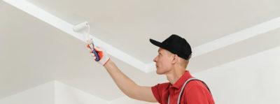 какой краской покрасить потолок на кухне