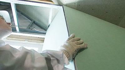 как сделать откосы из гипсокартона