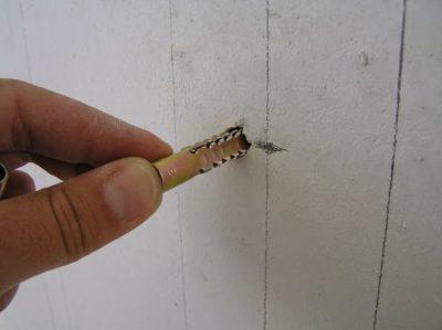 как вытащить дюбель из стены
