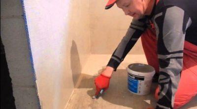 как наносить гидроизоляцию в ванной