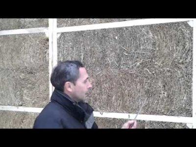 как построить дом из соломы