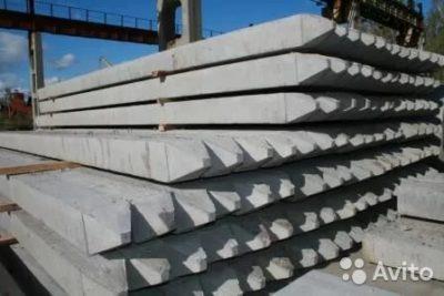 сколько весит бетонный столб