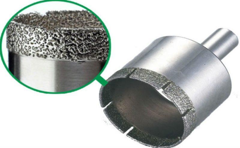 Просверлить бетон коронкой что разъедает бетон
