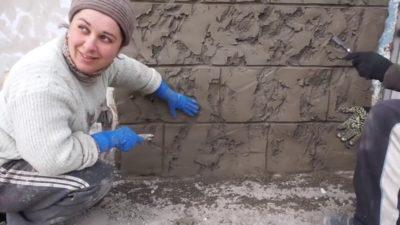 как сделать камень своими руками из цемента