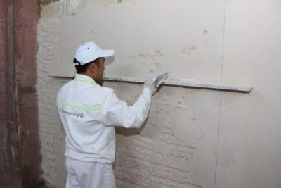 как штукатурить стены из газосиликатных блоков