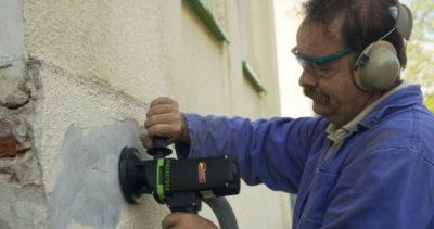 как очистить кирпичную стену