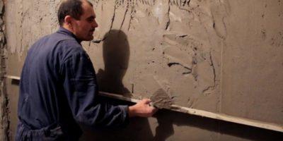 как оштукатурить стену из пеноблоков