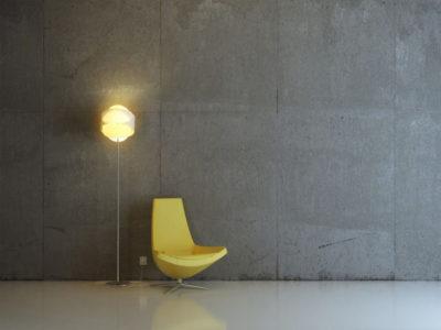 как сделать стены под бетон