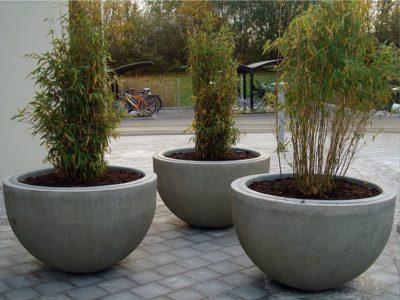 как сделать кашпо из бетона