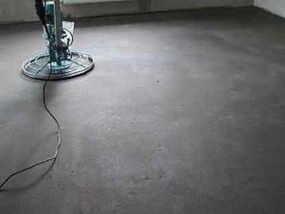 как шлифовать бетонный пол