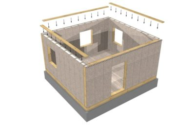 как построить дешевый дом своими руками