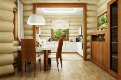 как сделать перегородки в деревянном доме