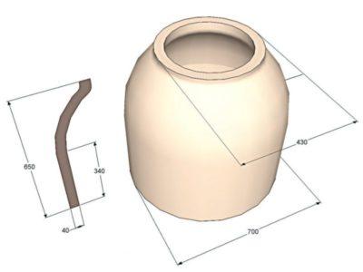 как сделать тандыр своими руками из глины