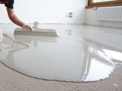 что такое бетонная стяжка