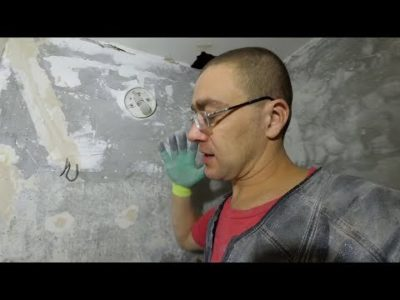 как покрасить бетонную стену